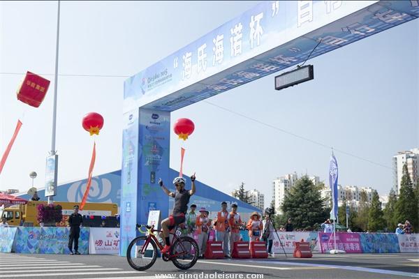 """青岛2015世界休闲体育大会 """"海氏海诺杯""""自行车公开赛"""